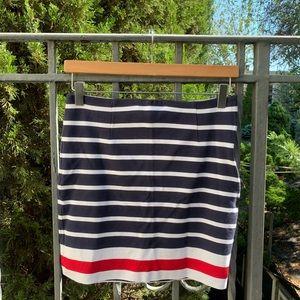 New Banana Republic Striped Skirt size 2P